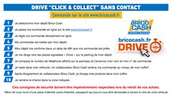"""DRIVE """"CLICK & COLLECT"""""""