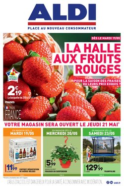 La halle aux FRUITS ROUGES !