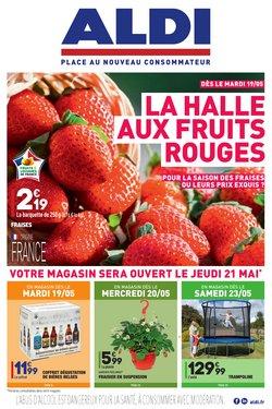 La halle aux FRUITS ROUGES !
