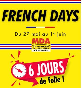 Catalogue MDA : French Days 2020