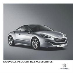 Nouvelle Peugeot RCZ Accessoires