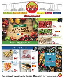 Catalogue Grand Frais en juin 2020