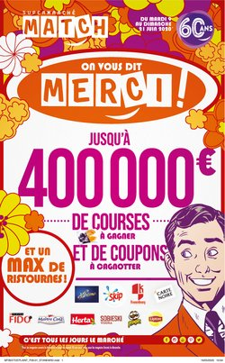 On vous dit merci !