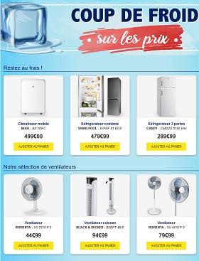 Catalogue MDA : Coup de froid sur les prix