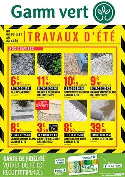 TRAVAUX D'ETE