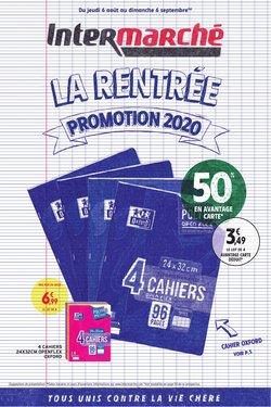 La rentrée promotion 2020