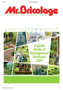 Cuisine mr bricolage catalogue 100 images agr able for Guide jardin 2015 mr bricolage