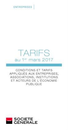 Conditions et tarifs - Entreprises et Institutionels