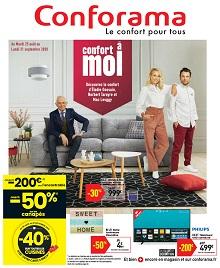 Catalogue conforama : Confort à moi
