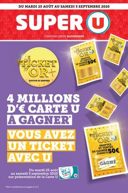 LE TICKET D'OR