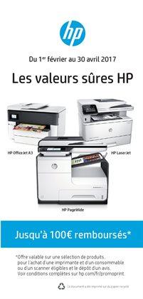 Les valeurs sûres HP