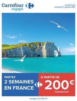 Partez 2 semaines en France