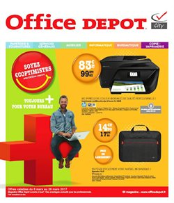 Soyez €coptimistes avec Office Depot