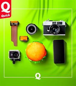 Quick - Carte, menu et promo Novembre 2020