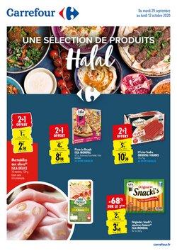 Une sélection de produits Halal