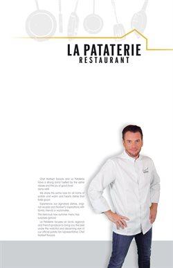 Menu La Pataterie
