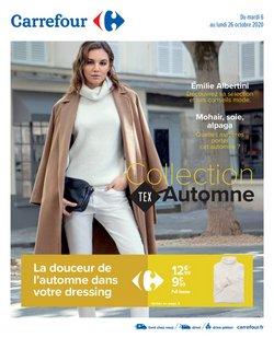Collection textile Automne