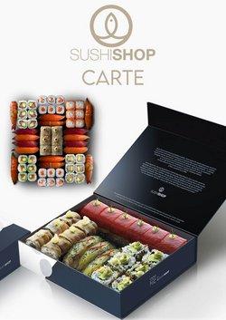 Carte Sushi Shop
