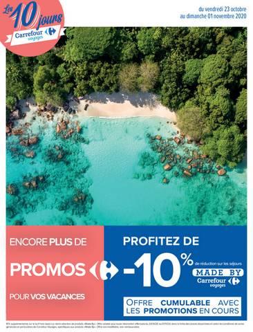 Les 10 jours Carrefour Voyages