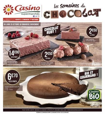 Les semaines du chocolat