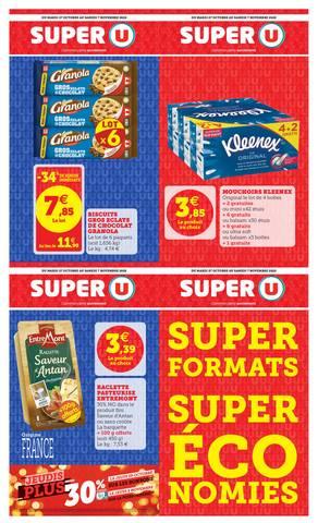 SUPER FORMATS SUPER ÉCONOMIES
