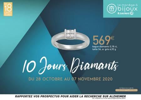 10 jours diamants