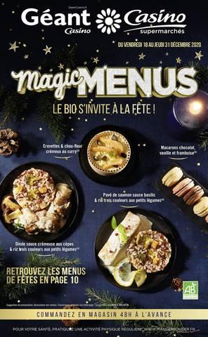 Magic menus