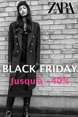 Offre Zara Black Friday