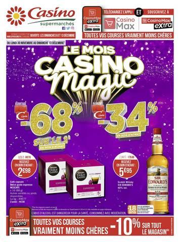Le mois Casino magic
