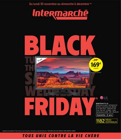 Offre Intermarché Black Friday