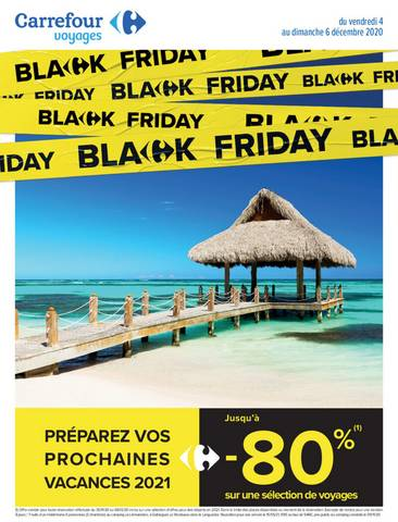 Offre Carrefour Black Friday