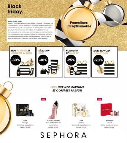 Offre Sephora Black Friday