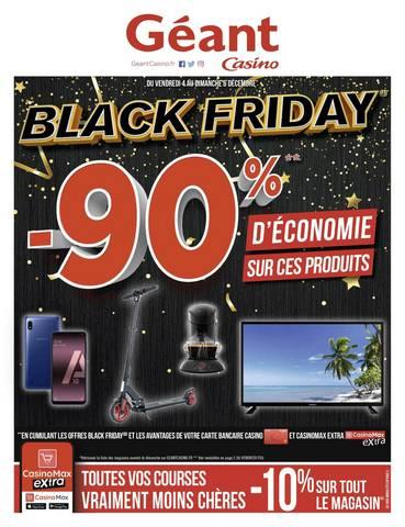 Offre Géant Casino Black Friday