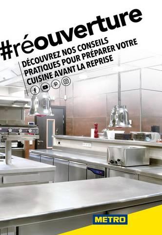 Redémarrage Cuisine COVID19