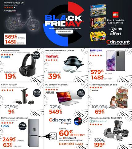 Offre Cdiscount Black Friday