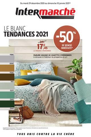 LE BLANC TENDANCE 2021