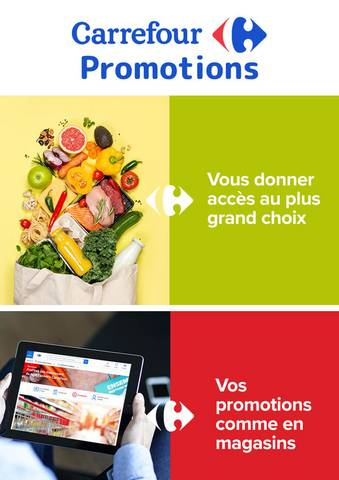 Promotions Carrefour Drive