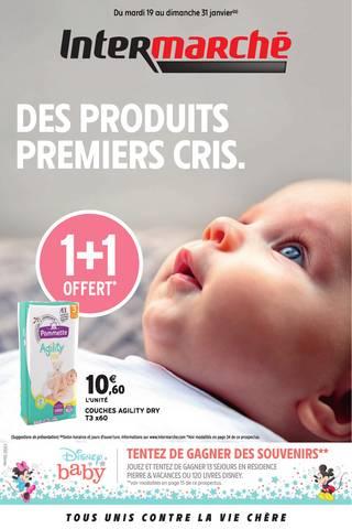 DES PRODUITS PREMIERS CRIS.