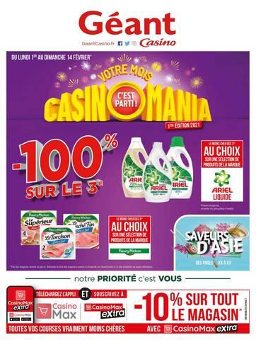 Votre mois Casinomania