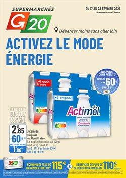 Activez le mode énergie