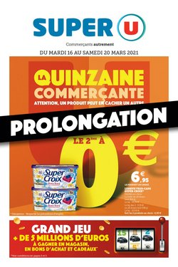 LA QUINZAINE COMMERÇANTE PROLONGATION
