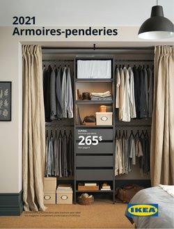 Armoires-penderies 2021