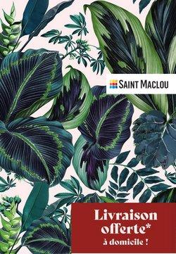 Saint Maclou achat sol stratifié