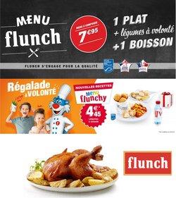 Menu flunch 1 plat + légumes à volonté + 1 boisson