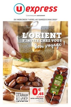 L'ORIENT S'INVITE CHEZ VOUS BON VOYAGE !