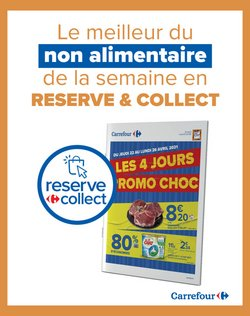 Promos Choc - Reserve & Collect