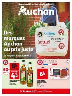 Des marques Auchan au prix juste !