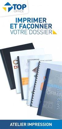 Imprimer et façonner votre dossier