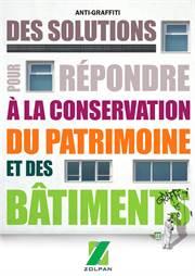 Des solutions pour répondre à la conservation du patrimonie et des bâtiments