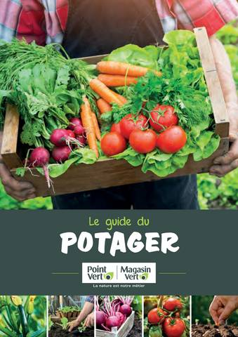 Le guide potager Magasin Vert Point Vert